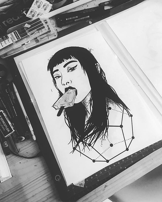 The ice-cream girl
