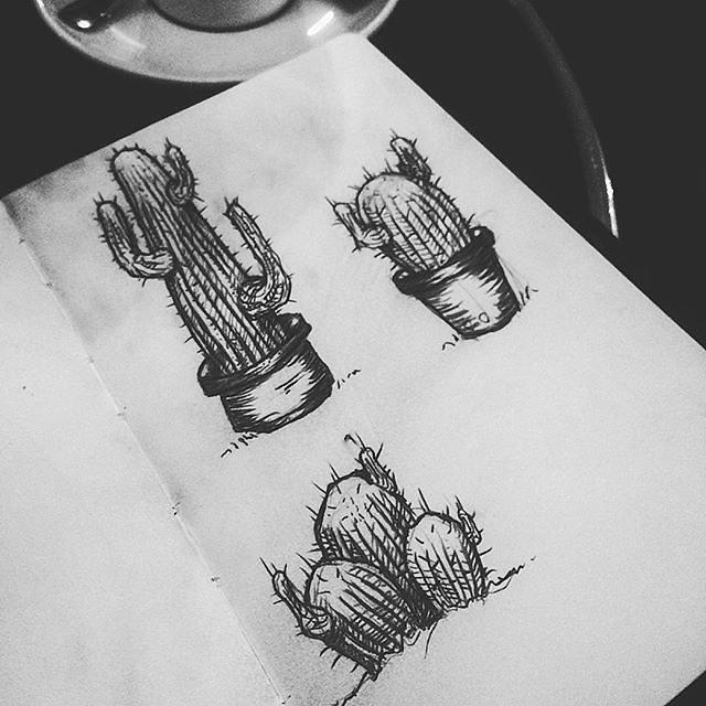 Un câlin de cactus